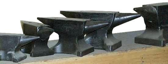 The Peddinghaus Line of Forged Steel Anvils (c) 2003 Jock Dempsey